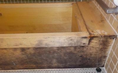 カビ除去・防カビ施工事例 浴室Before3