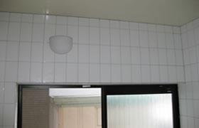 カビ除去・防カビ施工事例 浴室After1