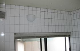 カビ除去・防カビ施工事例 浴室Before1